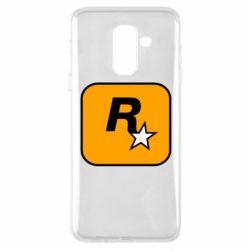 Чохол для Samsung A6+ 2018 Rockstar Games logo