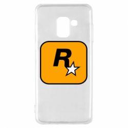 Чохол для Samsung A8 2018 Rockstar Games logo