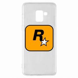 Чохол для Samsung A8+ 2018 Rockstar Games logo