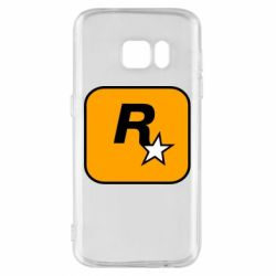 Чохол для Samsung S7 Rockstar Games logo