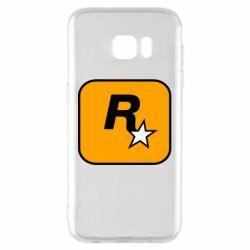 Чохол для Samsung S7 EDGE Rockstar Games logo