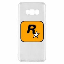 Чохол для Samsung S8 Rockstar Games logo
