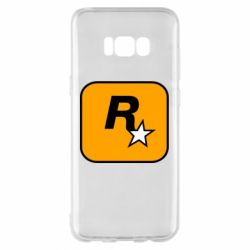 Чохол для Samsung S8+ Rockstar Games logo