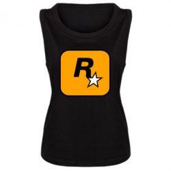 Майка жіноча Rockstar Games logo