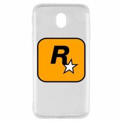Чохол для Samsung J7 2017 Rockstar Games logo