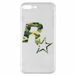 Чехол для iPhone 8 Plus Rockstar Gimes camouflage