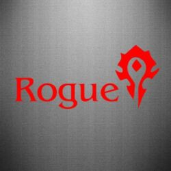 Наклейка Rogue Орда