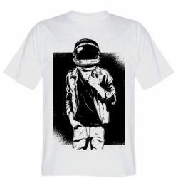 Мужская футболка Рок Космонавт
