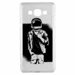 Чехол для Samsung A5 2015 Рок Космонавт