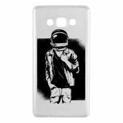 Чехол для Samsung A7 2015 Рок Космонавт