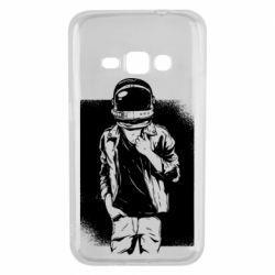 Чехол для Samsung J1 2016 Рок Космонавт