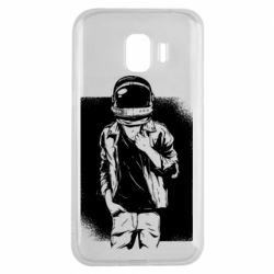 Чехол для Samsung J2 2018 Рок Космонавт