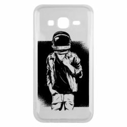 Чехол для Samsung J5 2015 Рок Космонавт