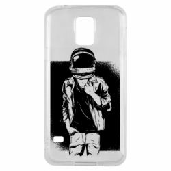 Чехол для Samsung S5 Рок Космонавт