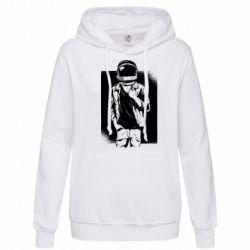 Женская толстовка Рок Космонавт