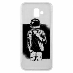 Чехол для Samsung J6 Plus 2018 Рок Космонавт