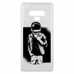 Чехол для Samsung Note 9 Рок Космонавт
