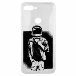 Чехол для Xiaomi Mi8 Lite Рок Космонавт