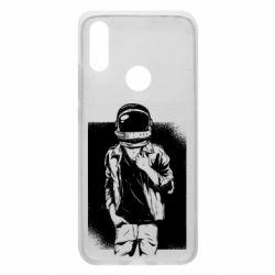 Чехол для Xiaomi Redmi 7 Рок Космонавт