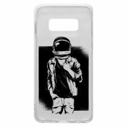 Чехол для Samsung S10e Рок Космонавт