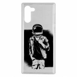 Чехол для Samsung Note 10 Рок Космонавт