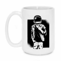 Кружка 420ml Рок Космонавт