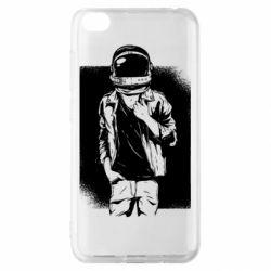 Чехол для Xiaomi Redmi Go Рок Космонавт