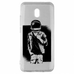 Чехол для Xiaomi Redmi 8A Рок Космонавт
