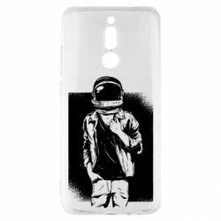 Чехол для Xiaomi Redmi 8 Рок Космонавт