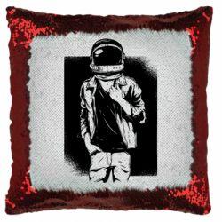 Подушка-хамелеон Рок Космонавт