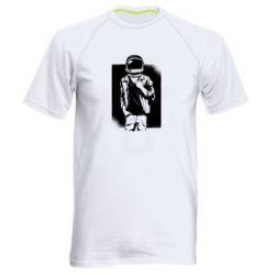 Мужская спортивная футболка Рок Космонавт