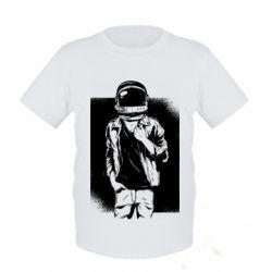 Детская футболка Рок Космонавт