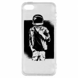 Чехол для iPhone5/5S/SE Рок Космонавт