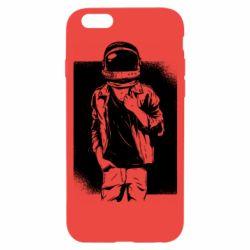 Чехол для iPhone 6/6S Рок Космонавт