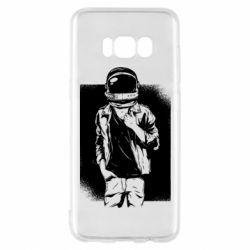Чехол для Samsung S8 Рок Космонавт