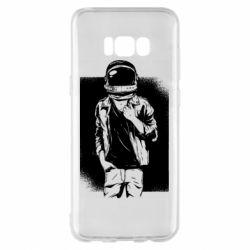 Чехол для Samsung S8+ Рок Космонавт
