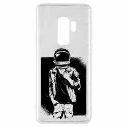 Чехол для Samsung S9+ Рок Космонавт