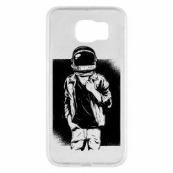 Чехол для Samsung S6 Рок Космонавт