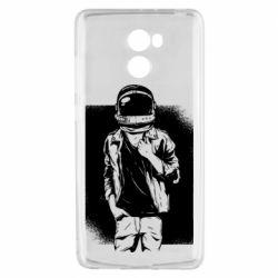 Чехол для Xiaomi Redmi 4 Рок Космонавт