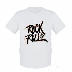 Детская футболка Рок н ролл