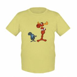 Детская футболка Рокки и Бульвинкль - FatLine