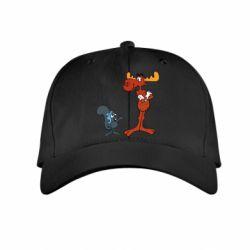 Детская кепка Рокки и Бульвинкль - FatLine