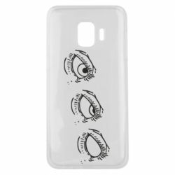 Чехол для Samsung J2 Core Rolling eyes in stages
