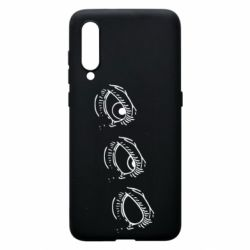 Чехол для Xiaomi Mi9 Rolling eyes in stages