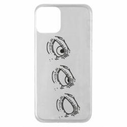 Чехол для iPhone 11 Rolling eyes in stages