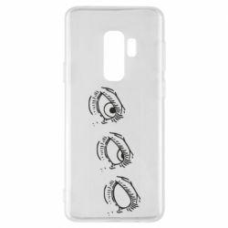 Чехол для Samsung S9+ Rolling eyes in stages