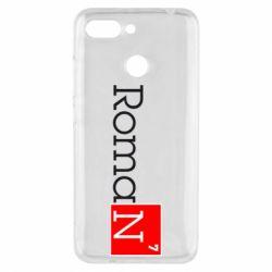 Чехол для Xiaomi Redmi 6 Roman