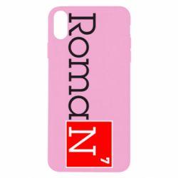 Чехол для iPhone Xs Max Roman
