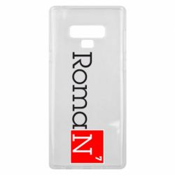 Чехол для Samsung Note 9 Roman