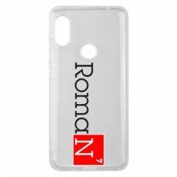 Чехол для Xiaomi Redmi Note 6 Pro Roman